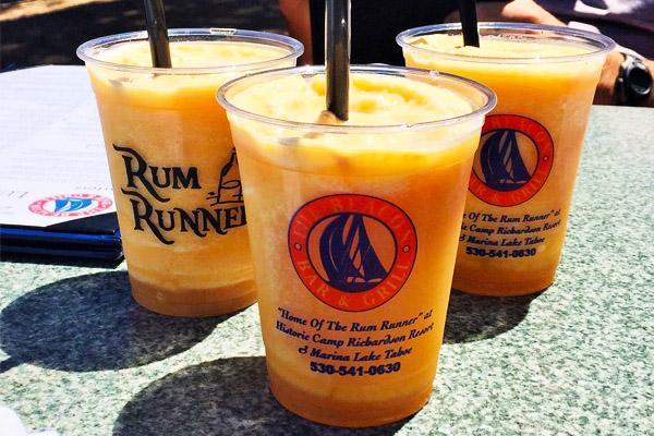 Rum Runner Cocktail | Best Things to do in Lake Tahoe